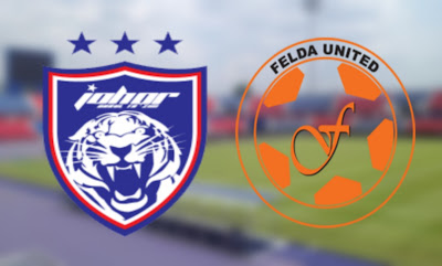 Live Streaming JDT vs Felda United 5 April 2019 Liga Super