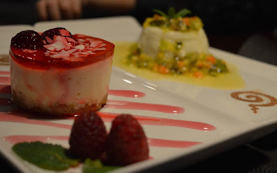 Dessert options from Mantra Thai, Newcastle Quayside