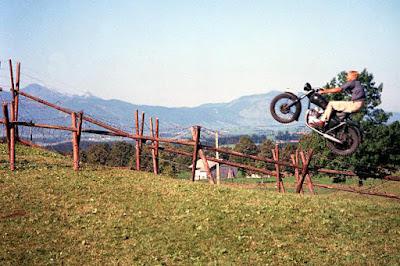 La gran evasión - el rodaje del salto en moto