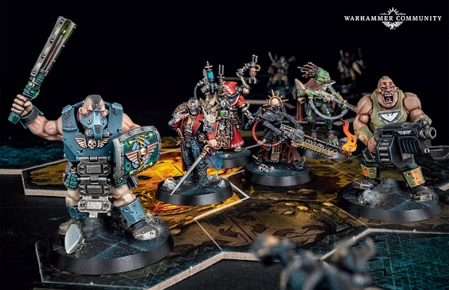 The Extra Muscle is Here! Blackstone Fortress Ogryn Brothers Dorg and Gren