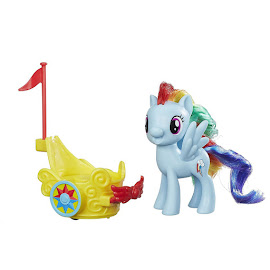 My Little Pony Royal Spin-Along Chariot Rainbow Dash Brushable Pony