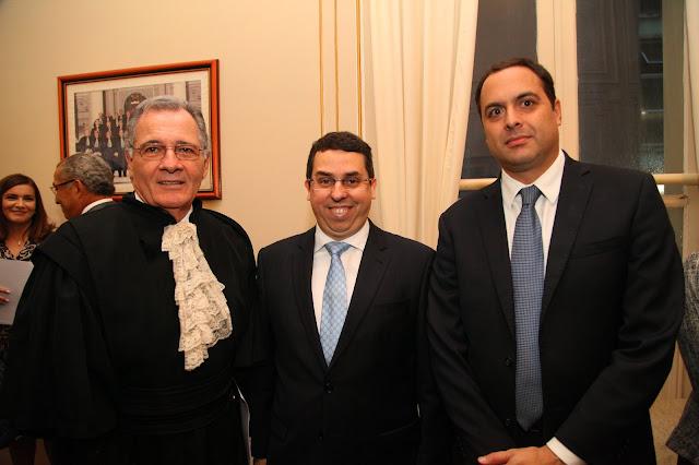 Juízes com o governador de Pernambuco