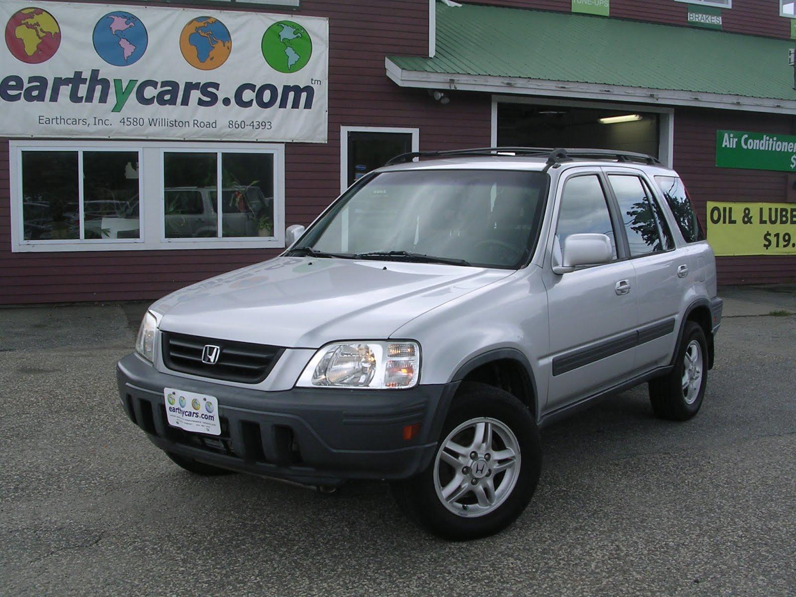 Earthy Car Of The Week Silver 2000 Honda Cr V Ex Suv