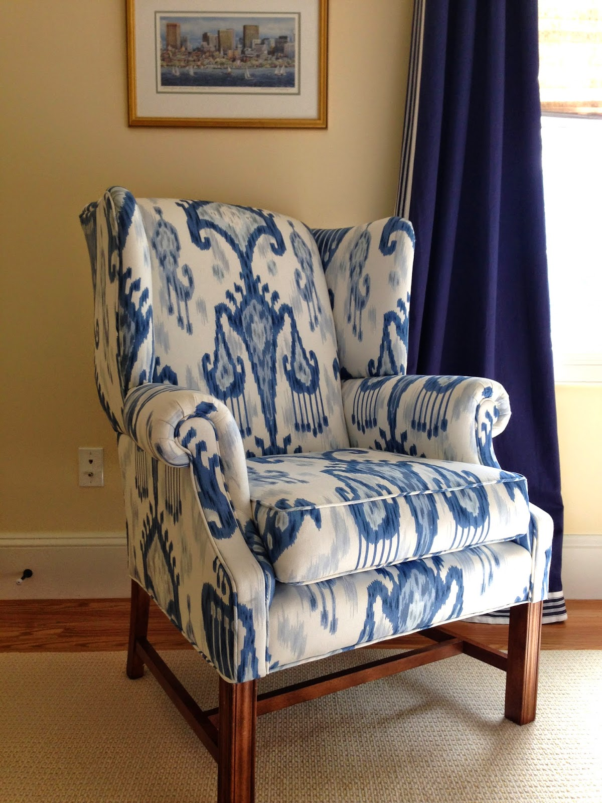 how much fabric do i need to reupholster a chair nursery chairs view from my heels modern wing