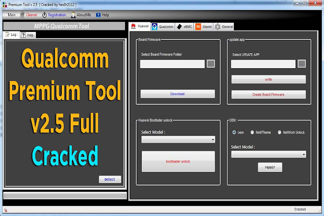 Qualcomm Premium Tool Updated Version v2.5 Full Cracked Free Download