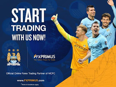 Partnership of MANCHESTER CITY FC and FXPRIMUS