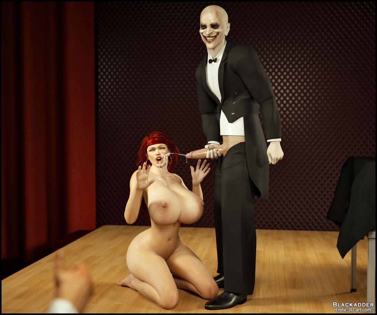 blackadder 3d gisela