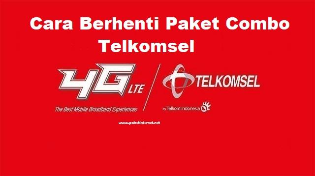 Cara Berhenti Paket Combo Telkomsel