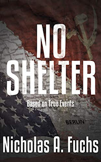 No Shelter (Shadow Fischer Series Book 1) by Nicholas A. Fuchs book promotion