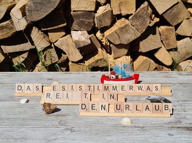 Das ESISTIMMERWAS reist in den Urlaub: 3 Tipps, wie Ihr es wieder nach Hause schickt. Lösungen, wenn im dänischen Ferienhaus mal etwas ist oder sonst auf Reisen!