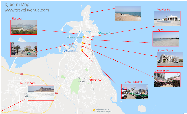 Guide Map for Tourists