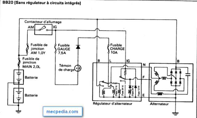 8 d u00e9firent sch u00e9mas du circuit de charge