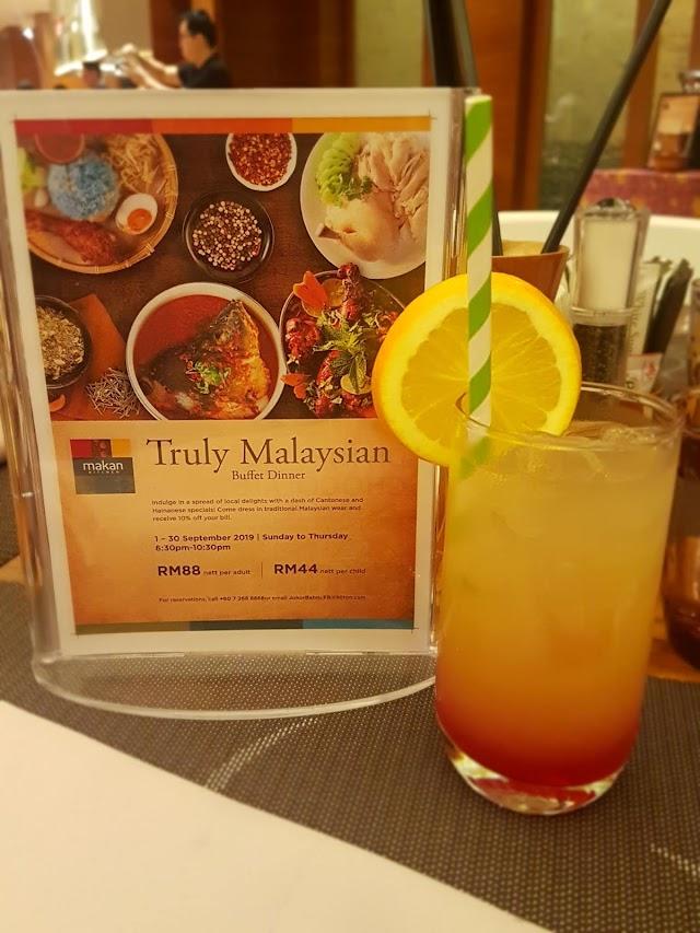 Jom Makan Malam Di Truly Malaysian Buffet Dinner Dekat Double Tree By Hilton JB