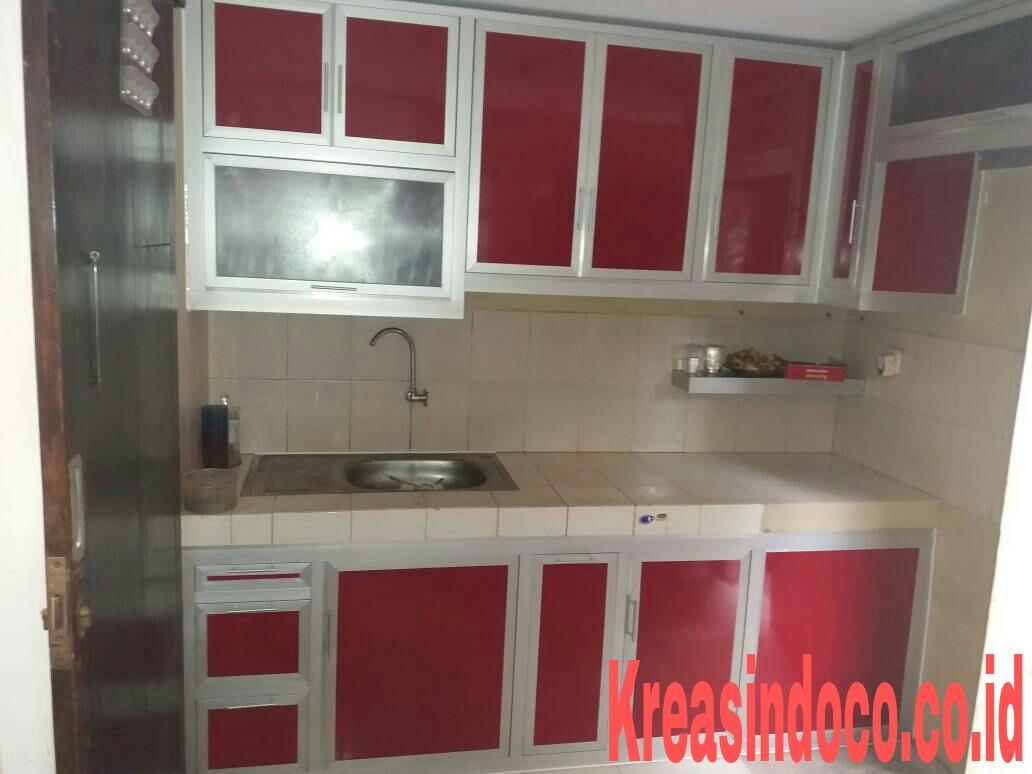 10 Model Dan Warna Terbaru Kitchen Set Aluminium Acp