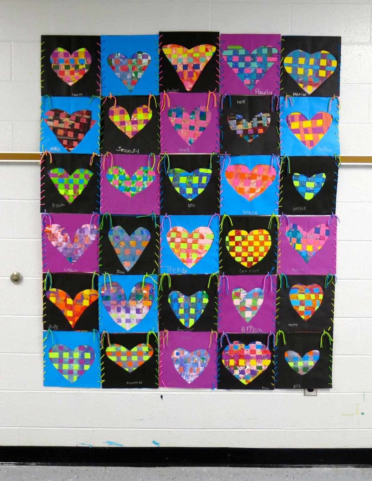 Cassie Stephens In The Art Room First Grade Fiber Arts