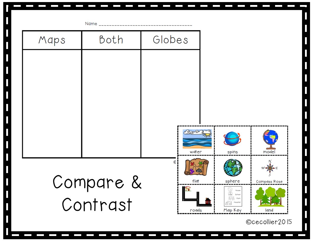 Map and globe lesson plans ccuart Choice Image