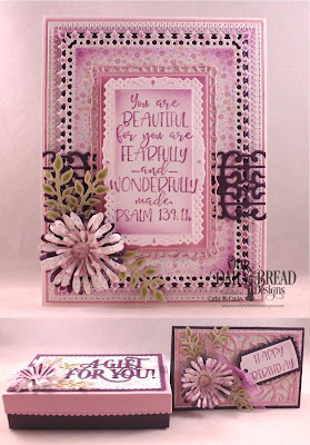 Our Daily Bread Designs Stamp Set: Today and Everyday, Paper Colelction:  Easter Card 2016, Custom Dies: Pierced Rectangles, Filigree Frames, Lavish Layers, Trellis Strip, Asters and Leaves, Fancy Foliage, The Giving Gift Box, Gift Card Holder, A Gift For You
