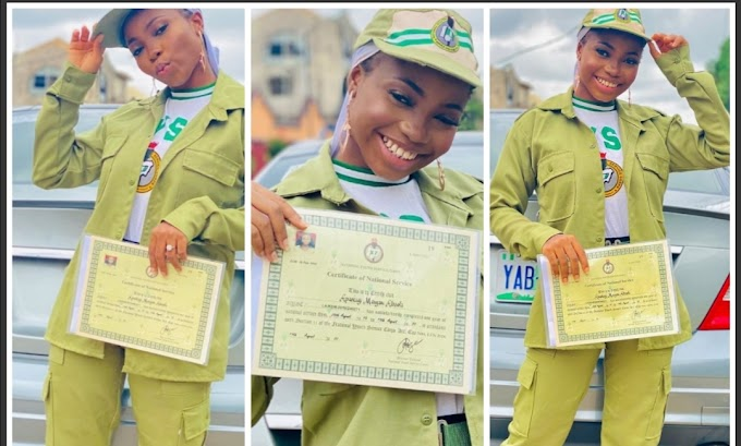 Instagram comedianne, Taaooma passes out from NYSC (Photos)