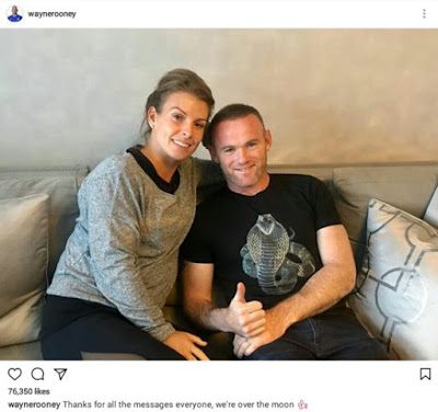 IMG 20170818 205358 - GLOBAL: Wayne Rooney Set To Be A Dad For The 4th Time