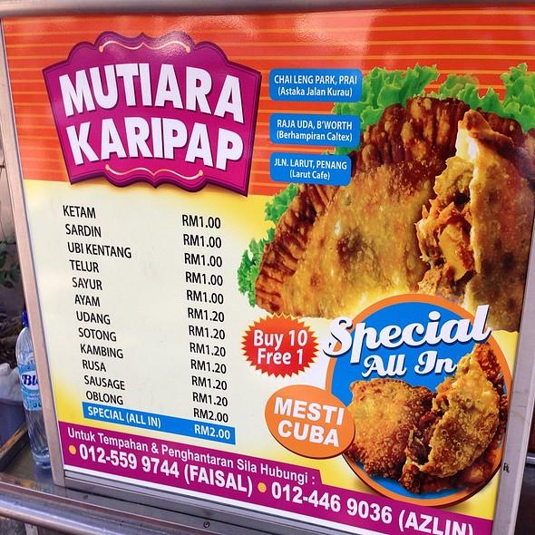 Harga Mutiara Karipap