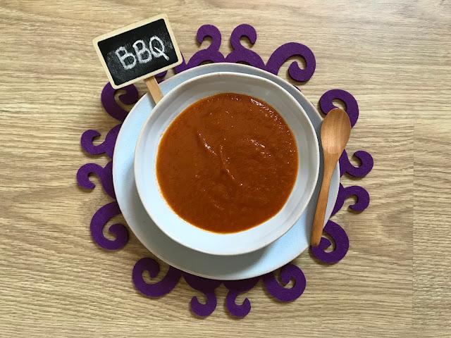 salsa barbacoa casera, receta fácil