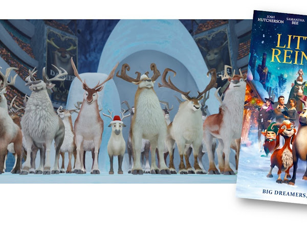 Closed Giveaway | The Littlest Reindeer DVD
