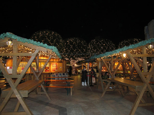 Mercadillo navideño en Yebisu Garden Place