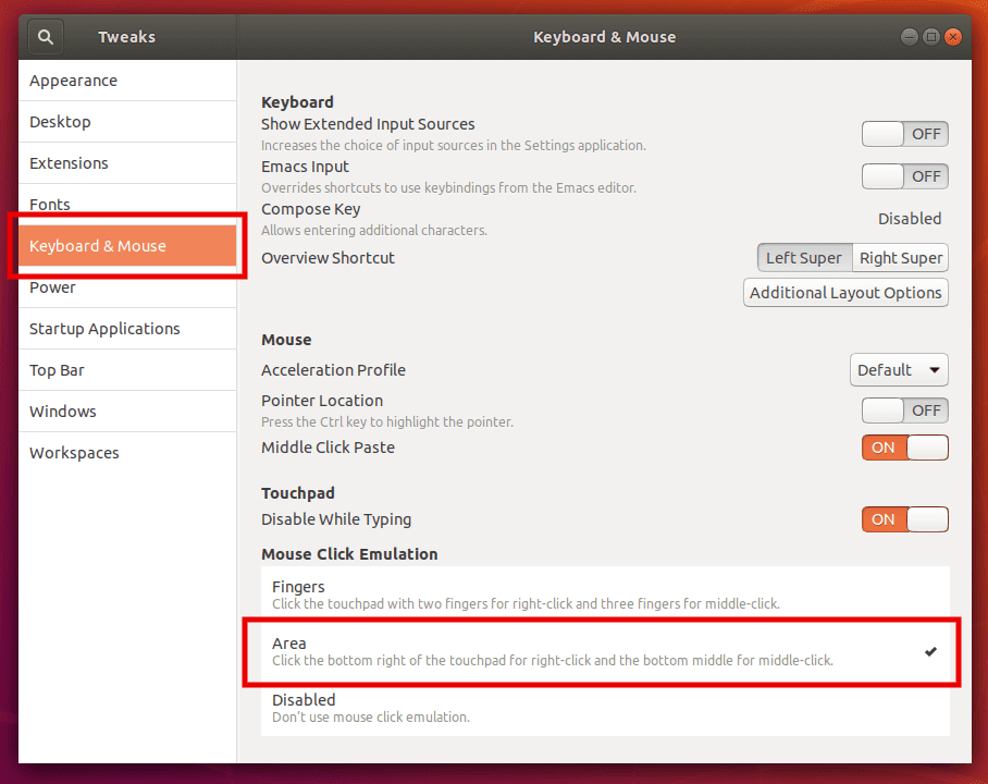 How to Fix Right Click Touchpad Not Working in Ubuntu 18 04