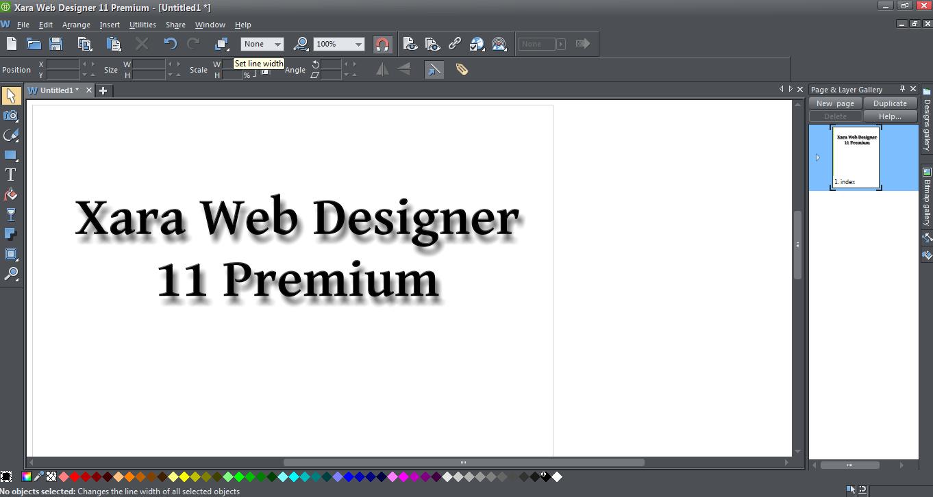 Xara web designer 7 premium