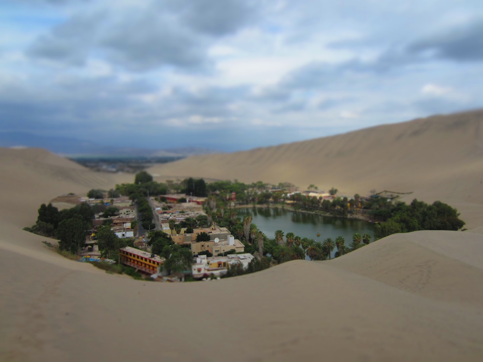 But Huacachina Is Famous For Sandboarding And Dune Buggies