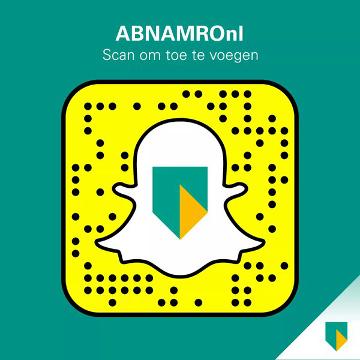 ABN AMRO sur Snapchat