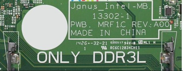 13302-1 Janus_Intel PWB MRF1C REV.A00 CLEAR ME Bios