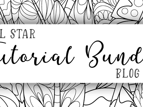 All Star Video Tutorial Bundle Design Team Hop January 2021 | Fine Art Floral Suite