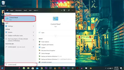 speed up your PC, Control Panel
