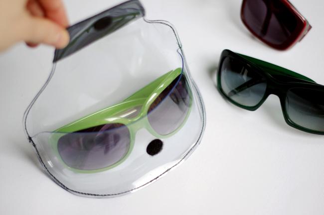 DIY Transparent Sunglasses Case Tutorial
