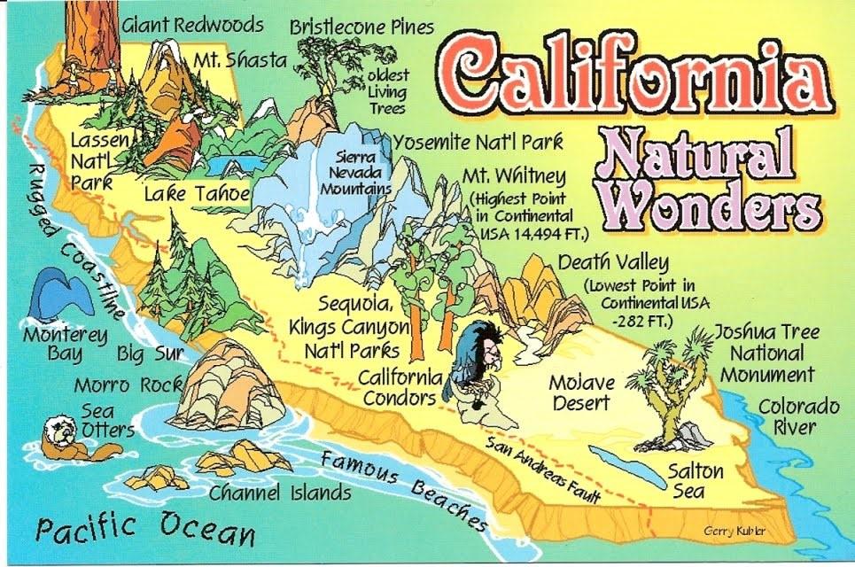 Bang California là khu vực có nhiều sinh viên Việt Nam du học