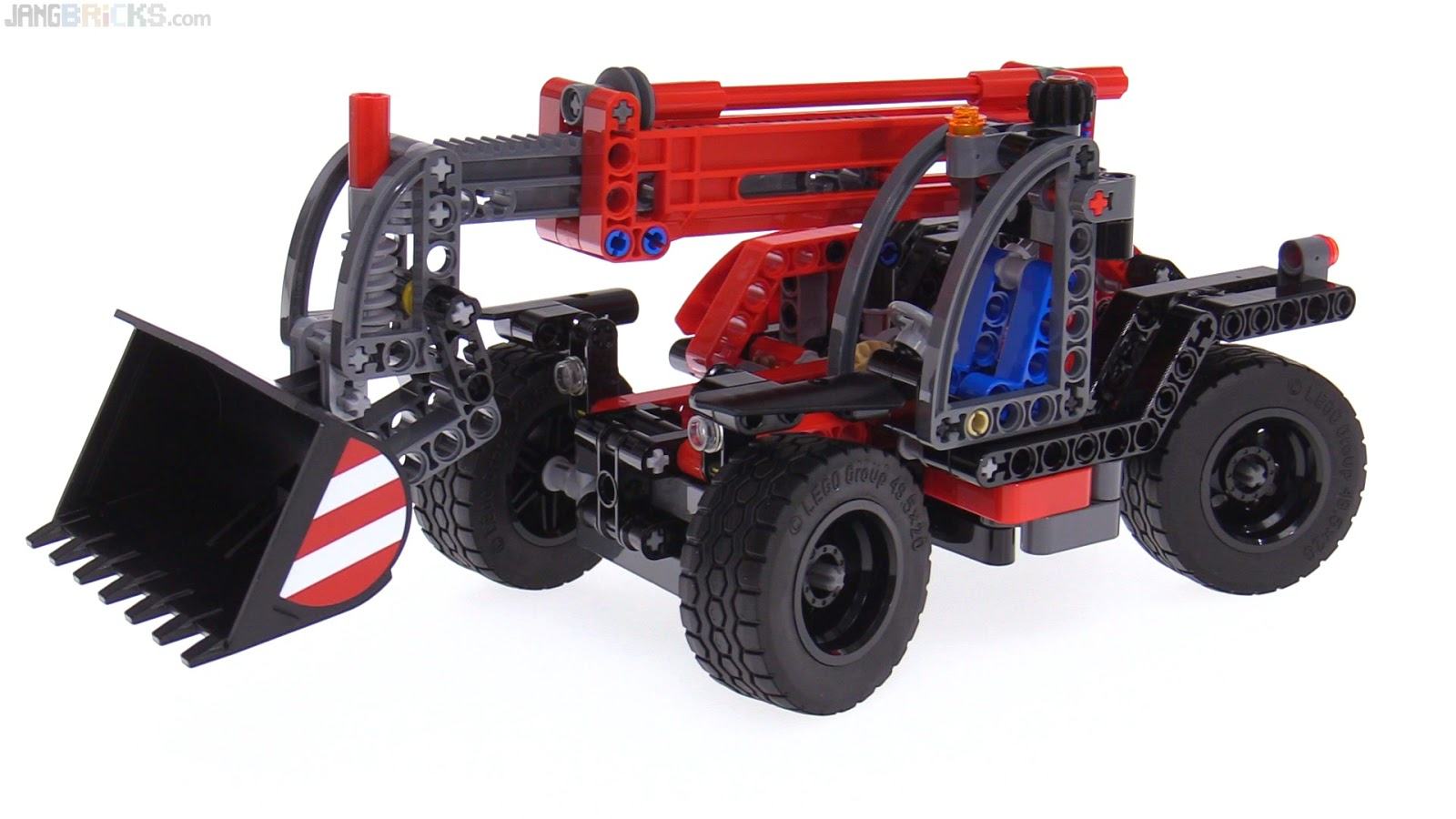 lego technic 2017 telehandler review 42061. Black Bedroom Furniture Sets. Home Design Ideas