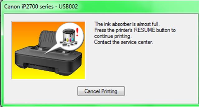 Cara Reset Printer Canon IP 2770 Dalam 5 Menit