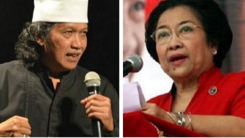 Bukan Megawati, Cak Nun Ungkap Sosok Penguasa yang Kendalikan Jokowi