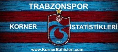 Trabzonspor Korner Bahisleri İstatistikleri