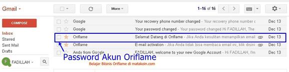 ambil password-untuk login-oriflame