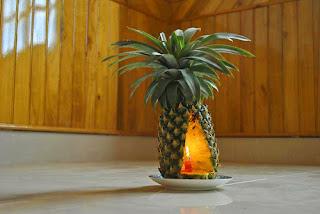 Xứ lý mùi nhà yến bằng trái thơm.