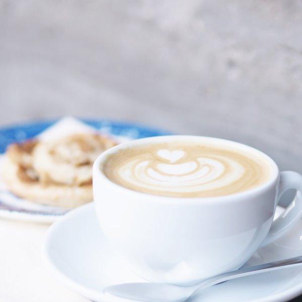 Kaffee im Bakeliet in Kiel