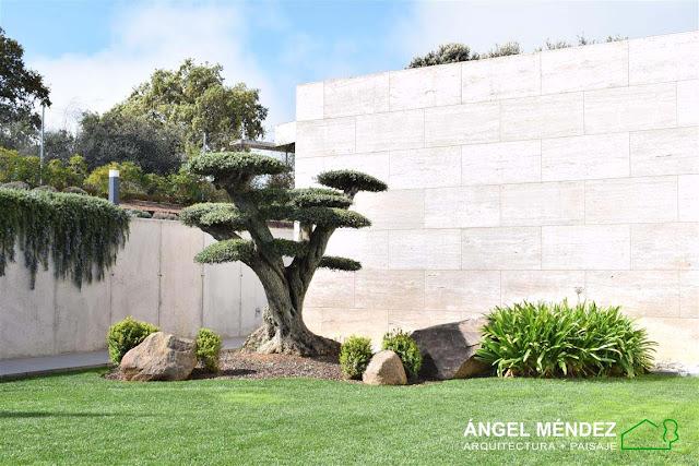 jardines diseño, jardines modernos, arquitectura paisaje