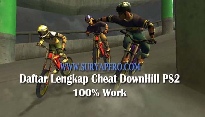 cheat downhill ps2 tamat bahasa indonesia