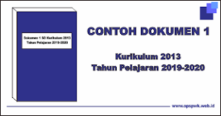 Donwload Dokumen 1 Terbaru SD K13 Tahun Pelajaran 2019-2020