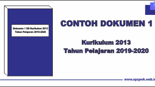 Donwload Dokumen 1 Terbaru Sd K13 Tahun Pelajaran 2019 2020
