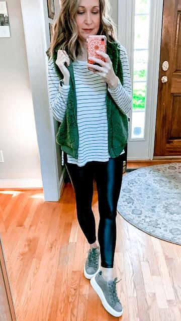 zyia metallic light n tight leggings, zyia metallic leggings, new zyia metallic legging colors and lengths, zyia metallic leggings colors, zyia metallic leggings inseam lengths