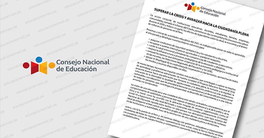 CNE exhorta a autoridades asegurar las condiciones de seguridad sanitaria de los estudiantes, según comunicado