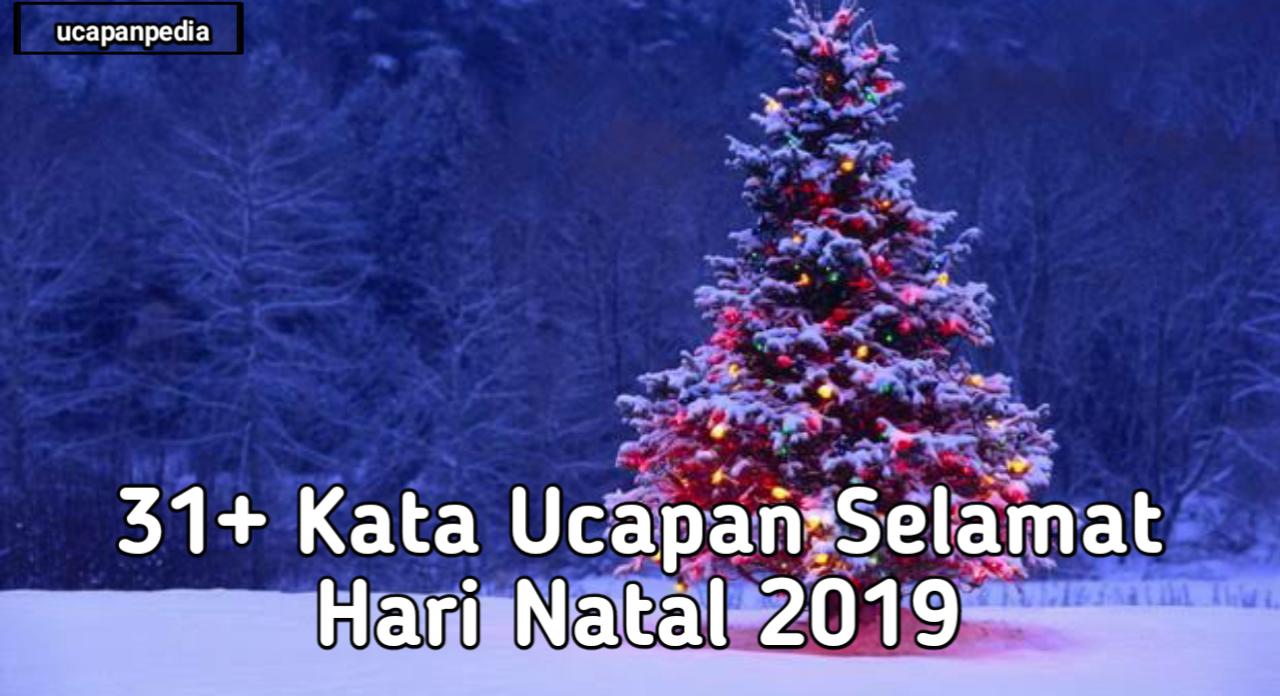 31 Kata Ucapan Selamat Hari Natal 2019